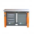 Верстак двухтумбовый Toollbox ТВР1800(ТВ0-ТВ5