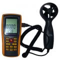 Цифровой термоанемометр-измеритель расхода воздуха Аэротема ВМ8902