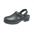 Антистатические туфли-сабо File черные