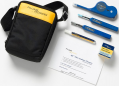 Fluke Networks Fiber Optic Cleaning Kits NFC-Kit-Case-E