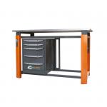 Верстак однотумбовый Toollbox ТВР1500(ТВ5)