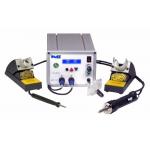 Многофункциональная трехканальная паяльная станция PACE MBT 301E с паяльником TD-100 и вакуумным паяльником SX-100