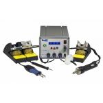 Многофункциональная трехканальная паяльная станция PACE MBT 350 с паяльником TD-100, вакуумным паяльником SX-100 и термопинцетом MT-100